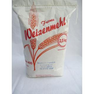 Mehl Weizen 405 2,5 kg